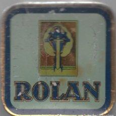 Cajas y cajitas metálicas: CAJITA METÁLICA DE ROLAN. Lote 82878012