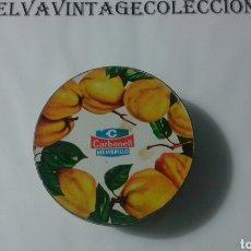 Cajas y cajitas metálicas: LATA DULCE DE MEMBRILLO, PUENTE GENIL. Lote 83763738