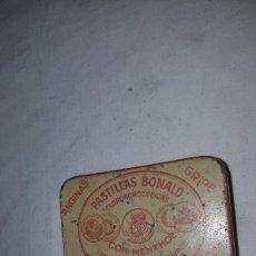 Cajas y cajitas metálicas: CAJITA PASTILLAS BONALD. Lote 84479552