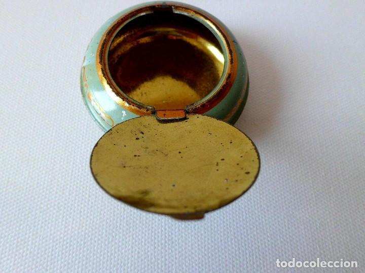 Cajas y cajitas metálicas: Antigua cajita metálica DEBRAI Barcelona - Foto 3 - 84522436