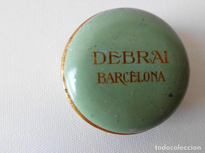 Cajas y cajitas metálicas: Antigua cajita metálica DEBRAI Barcelona - Foto 4 - 84522436