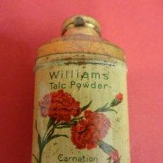 Cajas y cajitas metálicas: BOTE DE HOJALATA LITOGRAFIADA WILLIAMS EN MINIATURA. ORIGINAL. AÑOS 1910S. 6 CTMS. DE ALTURA. Lote 84854588