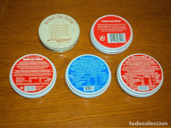 Cajas y cajitas metálicas: Envase de chocolate SCHO-KA-KOLA, de la empresa Scho-ka-kola NORDERSTEDT. Similar al de WWII - Foto 2 - 85348696