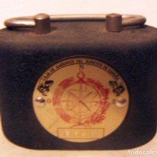 Cajas y cajitas metálicas: ANTIGUA HUCHA CAJA DE AHORROS DEL SURESTE DE ESPAÑA. Lote 85412160