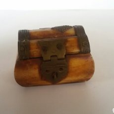 Cajas y cajitas metálicas: COFRE MINIATURA . Lote 85735967