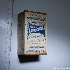 Cajas y cajitas metálicas: CAJA DE FARMACIA PILULES LIPOCHOL // AÑOS 20. Lote 96000914