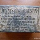 Cajas y cajitas metálicas: LITHINES DEL DR GUSTIN. Lote 86326900