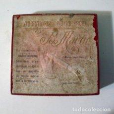 Cajas y cajitas metálicas: CAJA ANTIGUO MEDICAMENTO FARMACIA ANTIGUA LABORATORIO B. MARTIN HIOSCIAMINA. Lote 86949480