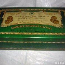 Cajas y cajitas metálicas: FARMACIA, CAJA GRANDE DEL DR. CEA VALLADOLID. Lote 87381960