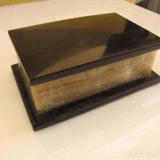 Cajas y cajitas metálicas: JOYERO DE MARMOL. ART DECO.. Lote 88039744