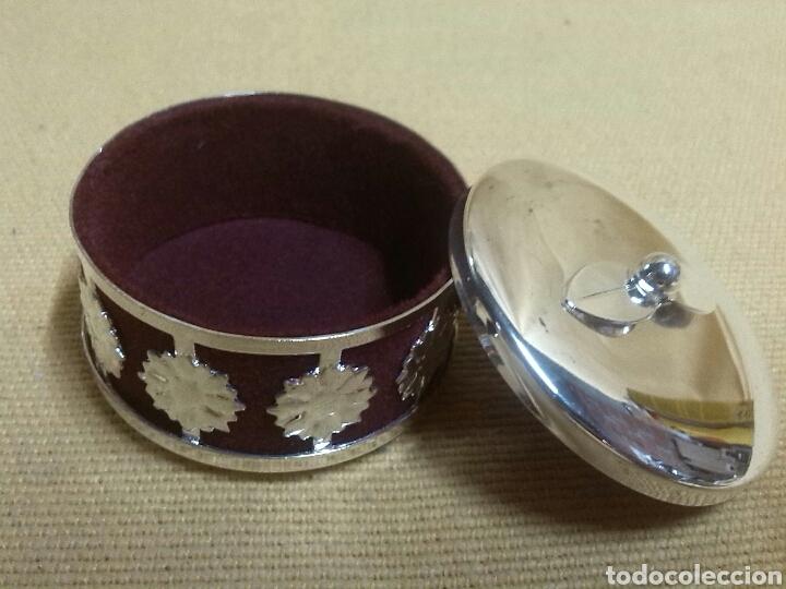 Cajas y cajitas metálicas: Cajita Joyero Pastillero - Foto 4 - 88362928
