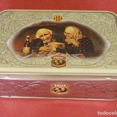 Cajas y cajitas metálicas: TRIAS - CAJA DE METAL GALLETAS TRIAS DE 400 GR. Lote 89061128