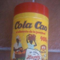 Cajas y cajitas metálicas: BOTE PLASTICO DE COLA CAO VACIO. Lote 90228156