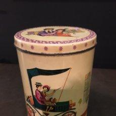 Cajas y cajitas metálicas: LATA DE CACAO AZUCARADO SPAR CAO 1959. Lote 90626199