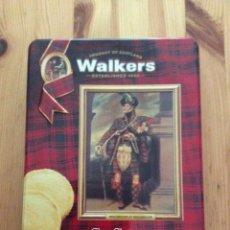 Cajas y cajitas metálicas: CAJA LATA METALICA WALKERS SCOTLAND SHORTBREAD HIGHLANDERS GALLETAS. Lote 90647968