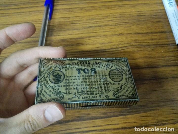 Cajas y cajitas metálicas: Caja de chapa Pasta Pectoral Infalible para la TOS. - Foto 5 - 90797480