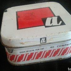 Cajas y cajitas metálicas: CAJA METAL GASAS ACOFAR ESTERILIZADAS. Lote 92701320