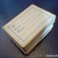Cajas y cajitas metálicas: CAJITA FARMACIA PASTILLAS CARTON ANTIGUA AÑOS 50 APROX *. Lote 93599830