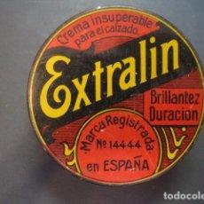 Cajas y cajitas metálicas: EXTRALIN, PRODUCTOS IMMALIN S.A. BILBAO. LATA CREMA PARA EL CALZADO. BETUN, ZAPATO, ZAPATOS. Lote 93961250