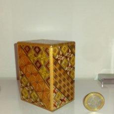 Cajas y cajitas metálicas: CAJA SECRETA JAPONESA - HIMITSU BAKO - MARQUETERIA - 12 PASOS.. Lote 94455375