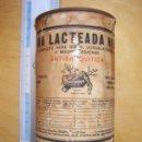 Cajas y cajitas metálicas: HENRI NESTLE LATA BOTE HARINA LACTEADA LA PENILLA SANTANDER AÑO 1905-1908 . Lote 95113687