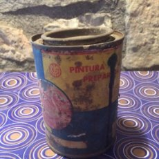 Cajas y cajitas metálicas: ANTIGUO BOTE / LATA DE PINTURA PREPARADA MARCA EL CISNE DE LOS AÑOS 40-50 . Lote 95129759