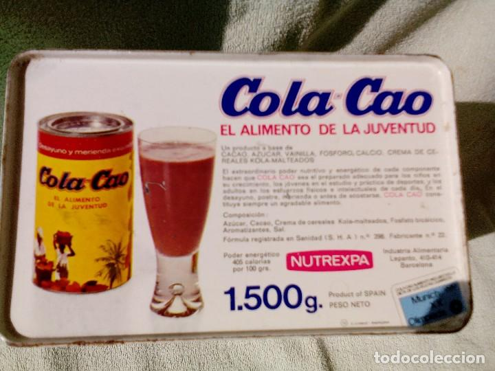 Cajas y cajitas metálicas: Lata colacao - Foto 2 - 96188867