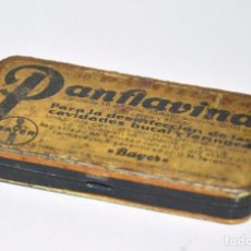 Cajas y cajitas metálicas: CAJA DE PANFLAVINA DE BAYER. Lote 96557495