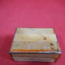Cajas y cajitas metálicas: ANTIGUA CAJITA DE CHAPA LITOGRAFIADA - PPOS SIGLO XX -. Lote 97024379