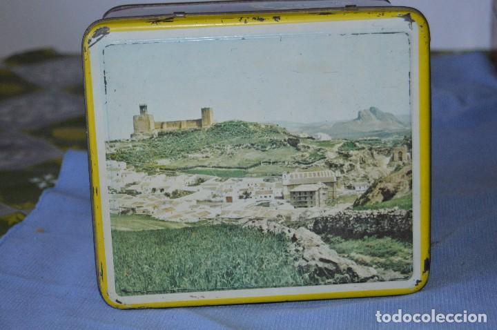Cajas y cajitas metálicas: Antigua caja / lata hojalata - Productos HIJANO Especias e infusiones - Antequera (MÁLAGA) - Foto 5 - 97232555