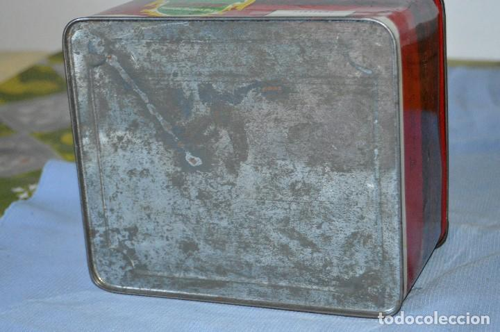 Cajas y cajitas metálicas: Antigua caja / lata hojalata - Productos HIJANO Especias e infusiones - Antequera (MÁLAGA) - Foto 6 - 97232555