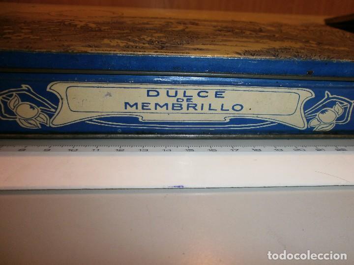 Cajas y cajitas metálicas: caja metalica antigua dulce de membrillo puente genil - Foto 2 - 97314391