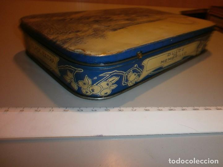 Cajas y cajitas metálicas: caja metalica antigua dulce de membrillo puente genil - Foto 4 - 97314391