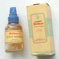 Cajas y cajitas metálicas: ANTIGUO FRASCO PELIKAN DE GOMA Nº2 , EN SU CAJA. Lote 97727771