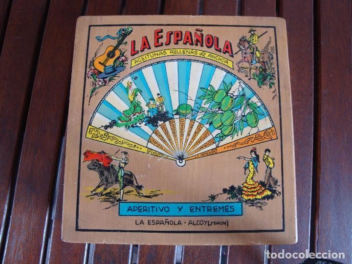 LA ESPAÑOLA ACEITUNAS ALCOY (Cajas y Envases - Cajas y Cajitas Metálicas)