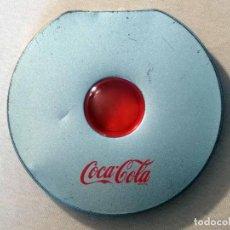 Cajas y cajitas metálicas: CAJA METÁLICA PORTA CDS O DVDS DE COCA-COLA (MUY ESCASA). Lote 98070083