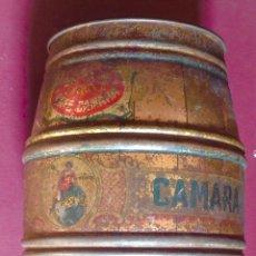 Cajas y cajitas metálicas: BOTE CAFE CAMARA, 10-12 X 18 CM.VELL I BELL. Lote 98507619