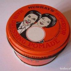 Cajas y cajitas metálicas: CAJA CAJITA METALICA MURRAY'S SUPERIOR HAIR DRESSING POMADE. Lote 98608731