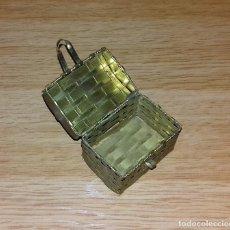 Cajas y cajitas metálicas: CAJITA DE LATON.. Lote 99909555