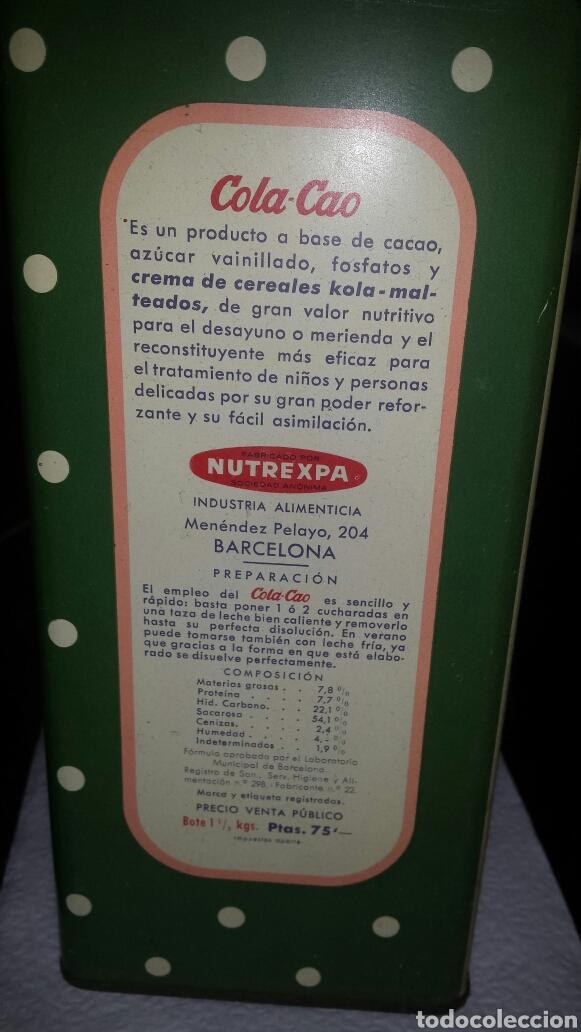 Cajas y cajitas metálicas: Lata colacao - Foto 3 - 102358655