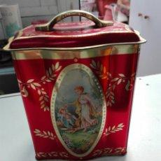 Cajas y cajitas metálicas: PRECIOSA LA LATA AÑOS 30 MEDIDAS 14 X 10 X 60. Lote 103192678