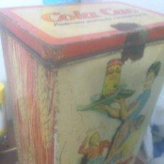 Cajas y cajitas metálicas: LATA COLA CAO. Lote 104235132