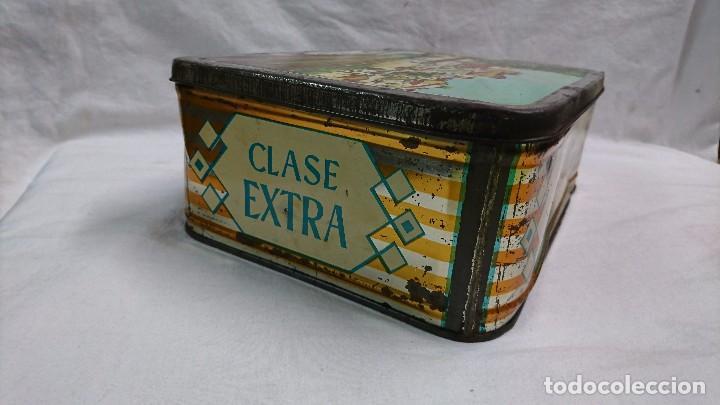 Cajas y cajitas metálicas: CAJA METÁLICA DULCE MEMBRILLO, LA DOLOROSA, PUENTE GENIL - Foto 5 - 104807015