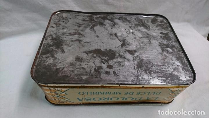 Cajas y cajitas metálicas: CAJA METÁLICA DULCE MEMBRILLO, LA DOLOROSA, PUENTE GENIL - Foto 6 - 104807015