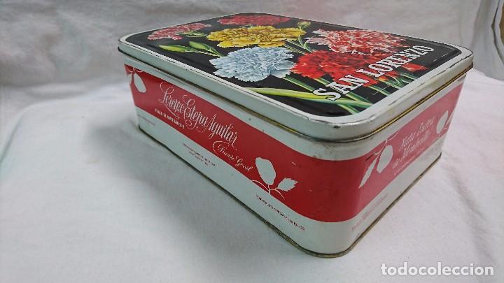 Cajas y cajitas metálicas: CAJA METÁLICA DULCE MEMBRILLO SAN LORENZO, PUENTE GENIL - Foto 2 - 104813035