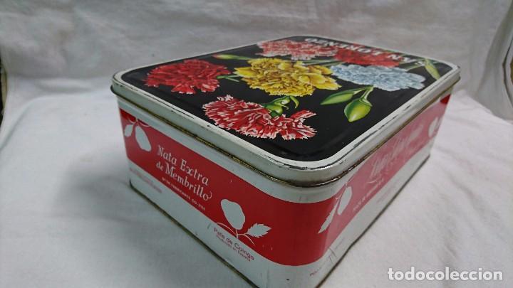 Cajas y cajitas metálicas: CAJA METÁLICA DULCE MEMBRILLO SAN LORENZO, PUENTE GENIL - Foto 4 - 104813035