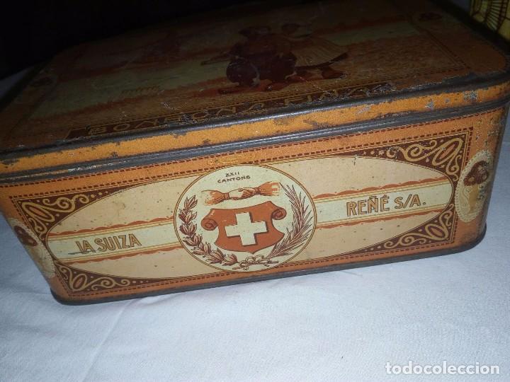 Cajas y cajitas metálicas: Caja Hojalata - Bombones La Suiza - Foto 4 - 105301475
