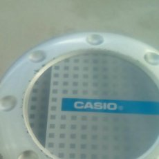 Cajas y cajitas metálicas: CAJA RELOJ CASIO METALICA AUTENTICA, COLECCION. Lote 105594335