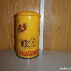 Cajas y cajitas metálicas: HUCHA CAJA POSTAL AÑOS 70 80. Lote 105824547