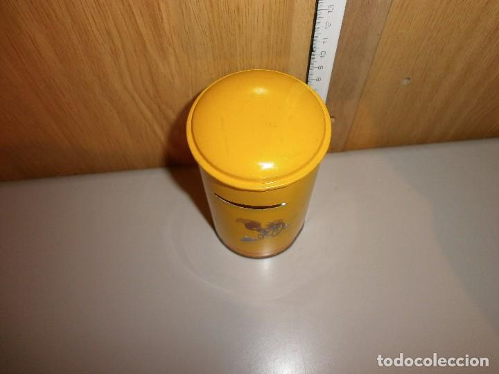 Cajas y cajitas metálicas: hucha caja postal años 70 80 - Foto 4 - 105824547